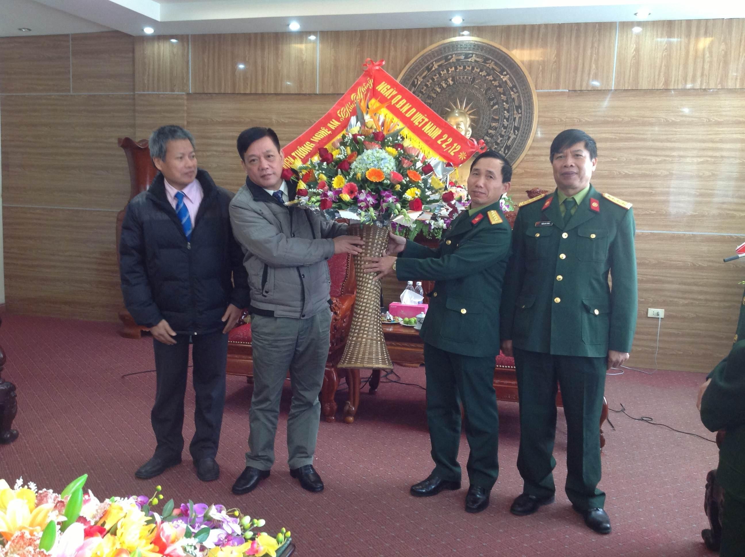 VNPT Nghệ An chúc mừng ngày Quân đội Nhân dân Việt Nam