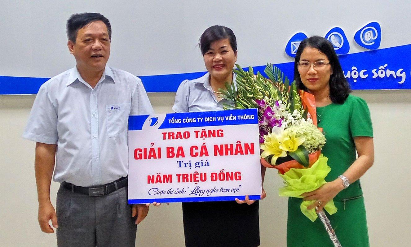 """Trung tâm Kinh doanh VNPT - Nghệ An trao giải cuộc thi ảnh """"Lắng nghe trọn vẹn"""""""