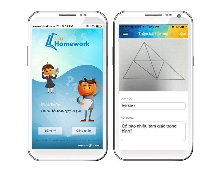 Ra mắt ứng dụng hỗ trợ giải bài tập Toán myHomework