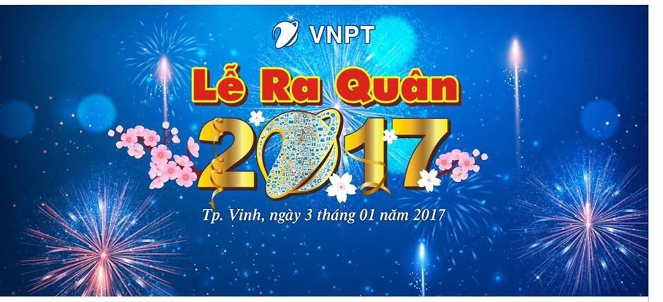 LỄ RA QUÂN 2017 VNPT NGHỆ AN