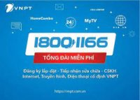 VNPT Nghệ An hợp nhất số Tổng đài Chăm sóc khách hàng  dịch vụ viễn thông cố định  18001166