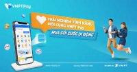 Mua gói Vina – nghe gọi thả ga – data thỏa thích cùng VNPT Pay