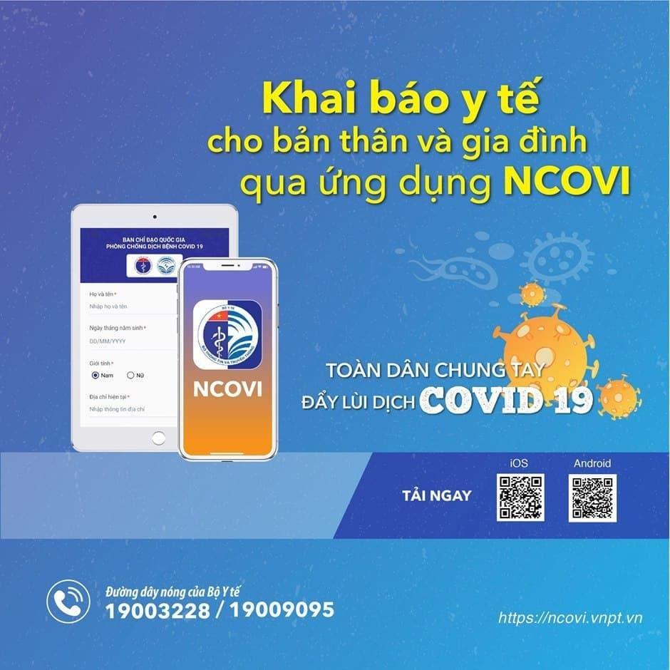 Ứng dụng công nghệ hỗ trợ người dân đồng lòng chống dịch Covid-19